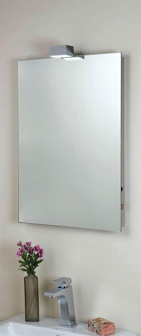 phoenix down lighter mirror with demister pad 450 x 600mm phoenix 500 x 700mm down lighter mirror with demister pad
