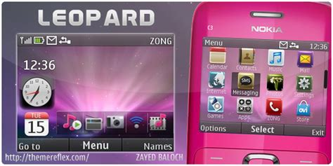 nokia x2 themes and wallpapers leopard theme for nokia c3 x2 01 themereflex