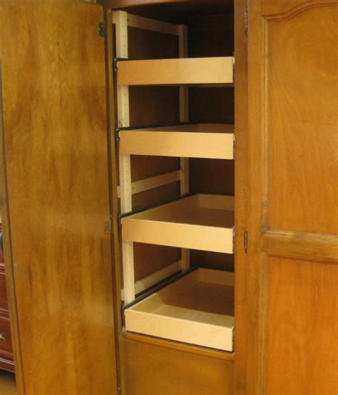 Pantry Sliding Shelves by Sliding Shelves Steve S Shelves