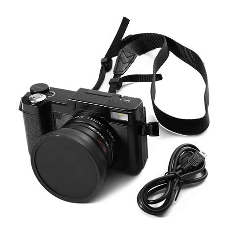 Kamera Canon Flip Screen 24mp digital kamera fhd 1080p flip screen 3 0 quot lcd zoom camcorder lf748