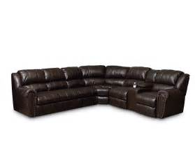 leather reclining sectional sofas summerlin reclining sectional sectionals