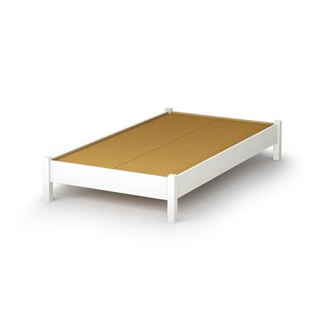 platform twin bed south shore 3050205 step one twin platform bed 39 quot in