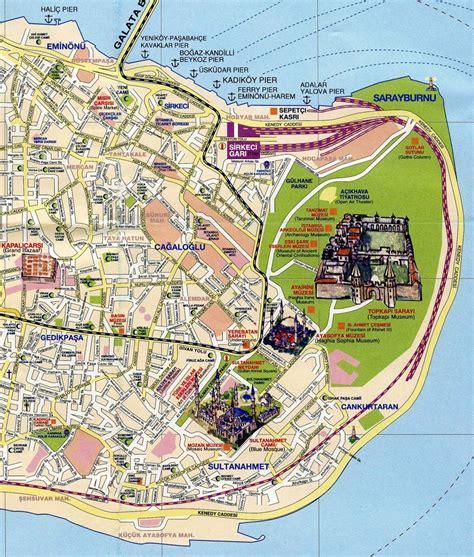 map of istanbul map of istanbul istanbul maps mapsof net
