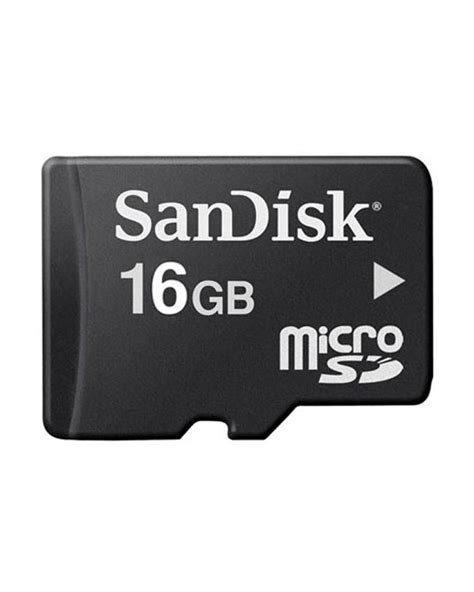 Memory Sd Sandisk 16gb sandisk 16gb micro sd memory card black bovic enterprises