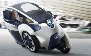 Toyota Scooter Toyota I Road Is An Electric Scooter That Drives Like A