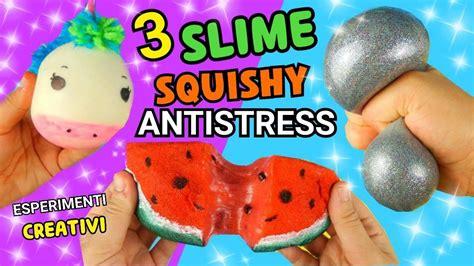 Gudetama Muntah Slime Squishy Anti Stress 3 slime squishy antistress fatti in casa unicorno angu doovi