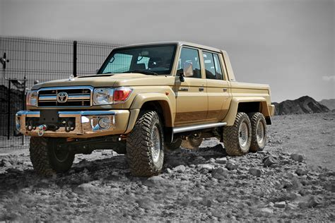 military land cruiser toyota land cruiser 6x6 by nsv hiconsumption