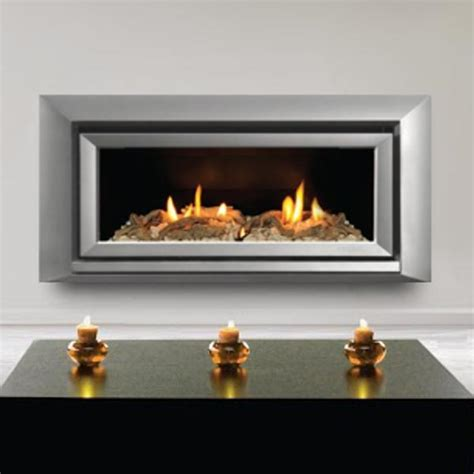 escea st900 indoor propane fireplace silver with with