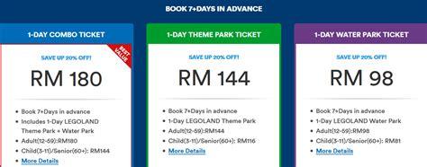 Tiket Park legoland malaysia review harga tiket legoland johor