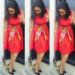 Lovely asoebi ankara styles short gowns amillionstyles com