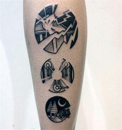 50 back to the future tattoo designs for men sci fi ink
