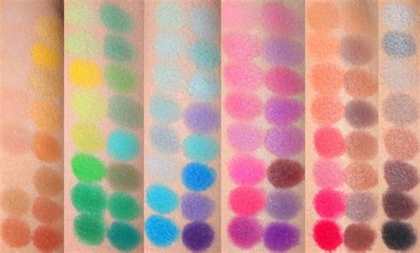 Original Coastal Scents Blush Palette the coastal scents original 88 palette swatches products makeup eyeshadow make up swatches