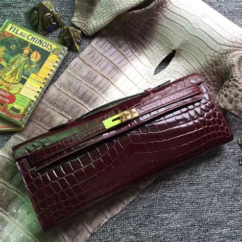 Hermes Lindy Size 31cm stitching hermes ck57 bordeaux crocodile shiny
