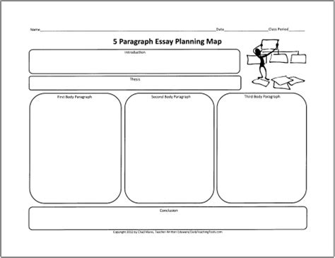 writing planner template free graphic organizers for teaching writing