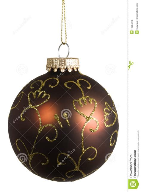 ornate christmas bauble stock photos image 10267213