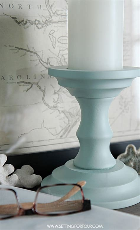 beautiful diy home decor painted candlesticks beautiful diy home decor setting