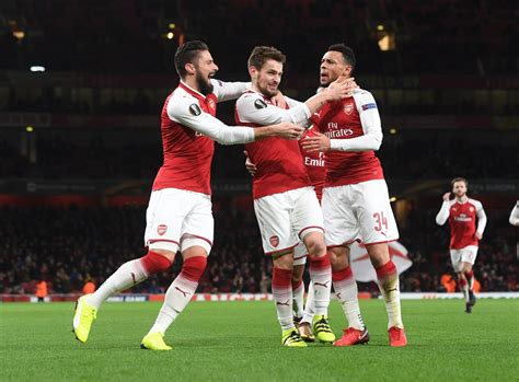 arsenal europa league 2017 arsenal cerr 243 la fase de grupos de la europa league con