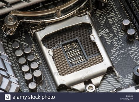 Harga Processor Lga 1151 by Intel Lga 1151 Cpu Socket On Motherboard Stock Photo