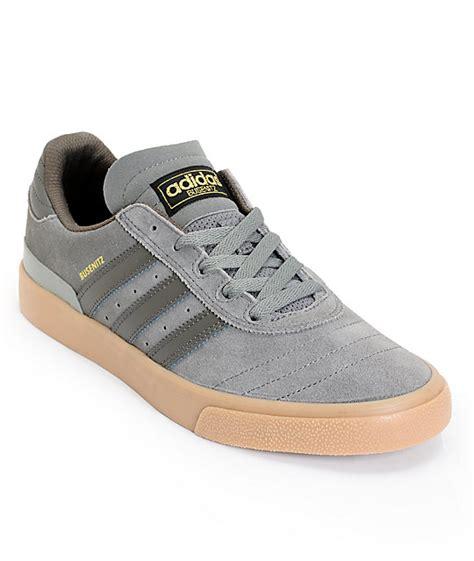 adidas busenitz vulc all grey gum skate shoes at zumiez pdp