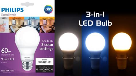 three colors review philips sceneswitch led bulb three colors of