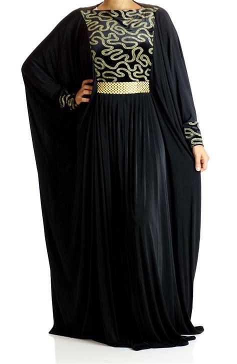 Abaya Saudi 38 chain print butterfly jersey abaya
