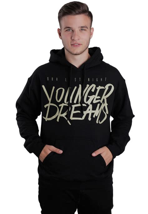 night younger dreams hoodie official post hardcore merchandise shop impericon