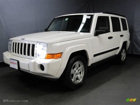 2006 Jeep Commander White 2006 White Jeep Commander 4x4 22985517 Gtcarlot