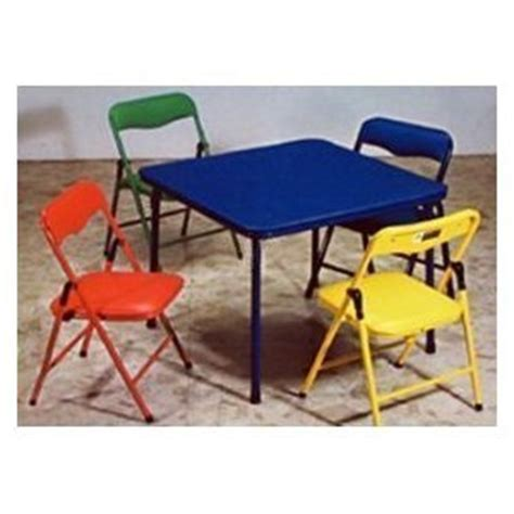 Childrens Folding Table And Chairs Children S Folding Table Folding Chairs Furniture Set Childrens Table And Chair