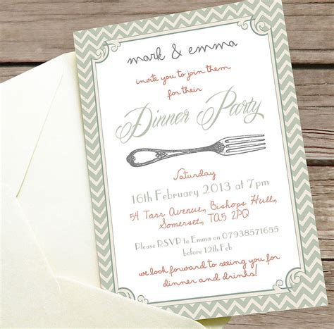 pics photos dinner party invitation wording