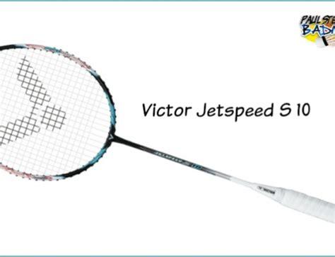 Raket Jetspeed 10 the badminton serve part 1 paul stewart
