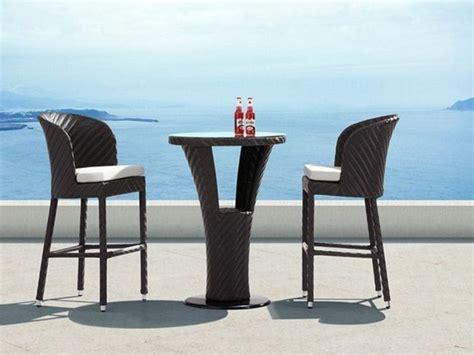 Table Haute De Jardin Resine