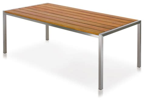 harbour outdoor garden court dining table modern
