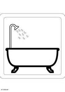 coloriage salle de bain oh fr