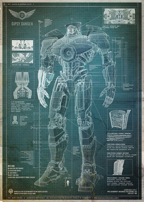 build blueprints blueprint how to build a kaiju fighting robot wired