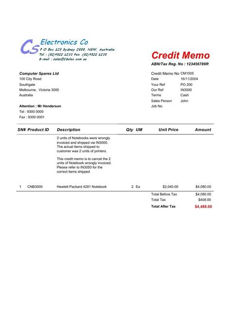 Service Letter Of Credit doc 8001060 credit note letter credit note letter it