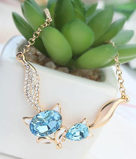 Misel Anting Earrings Blue Misel Collection kalung spirit fox jy58242 sky blue tamochi