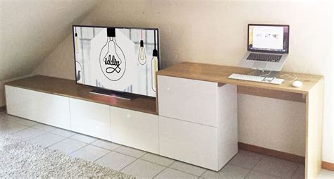 Ikea Metod Arbeitszimmer by Un Meuble Tv Multi Fonctions Iddiy Meuble Besta Multi