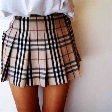 Pleated Plaid Mini Skirt shirt skirt plaid plaid print skirt plaid