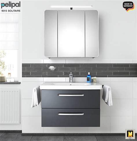 spiegelschrank duravit pelipal solitaire 9005 badm 246 bel set 80 cm mit