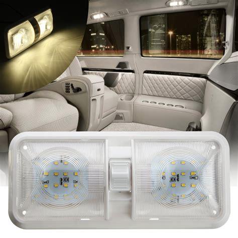12v Interior Lights by 12v 48led 2835 Smd Interior Dome Ceiling Light