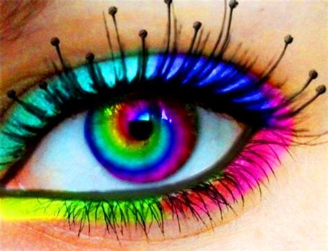 rainbow color contacts fashion contacts