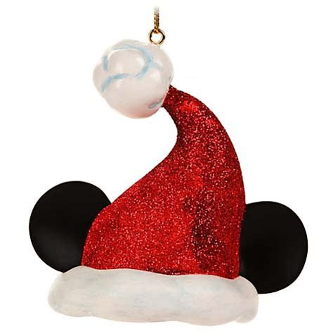 disney christmas tree hats your wdw store disney ornament santa mickey ear hat light cover