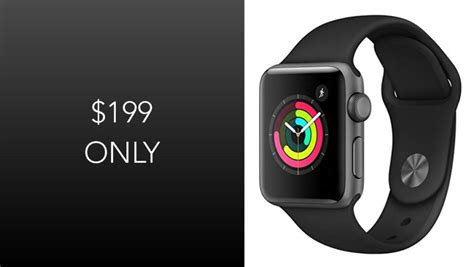 Apple Series 4 199 by Score Apple Series 3 Today For Just 199 Discount Applies To 38mm Sport Aluminum Model
