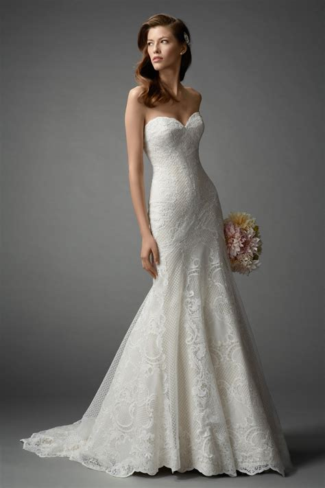 Dress Lavisa fit and flare wedding dress kleinfeld bridal
