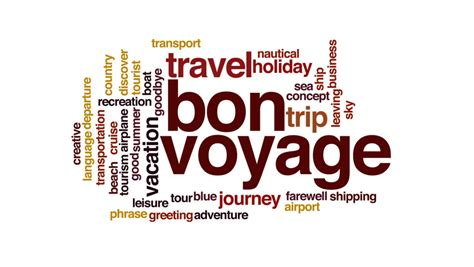 bon voyage meaning bon voyage definition meaning