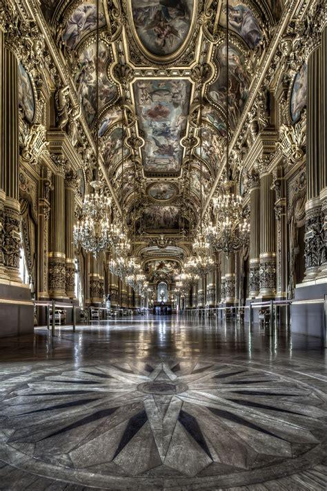 grand foyer le palais garnier opera house grand foyer in
