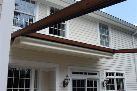 ke durasol awnings private residence northern nj retractable pergola