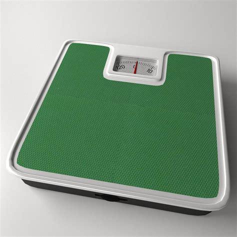 medical bathroom scales bathroom scale 3d model 3ds fbx blend dae cgtrader com