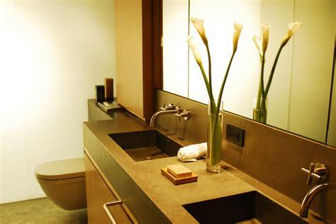 two sink bathroom countertop concrete bathroom countertop with sink modern