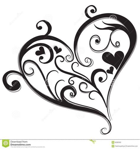 imagenes de corazones a blanco y negro corazon negro buscar con google corazones pinterest